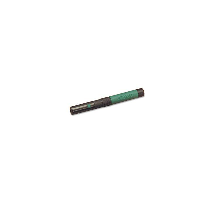 Quartet® Classic Comfort Laser Pointer, Class 3A, Projects 1500 ft, Jade Green