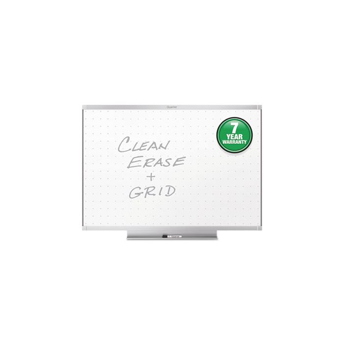 Quartet® Prestige 2 Total Erase Whiteboard, 36 x 24, Aluminum Frame
