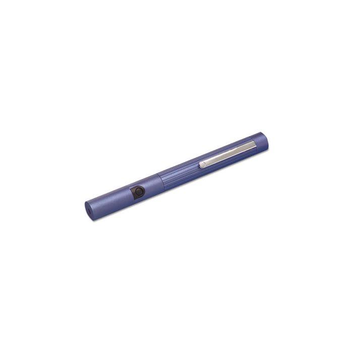 Quartet® General Purpose Laser Pointer, Class 3A, Projects 1148 ft, Metallic Blue