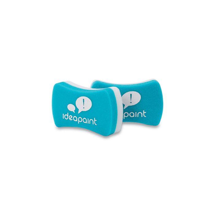 Ideapaint Foam Dry Erase Whiteboard Erasers, 5.28 x 4.8 x 1.26, 2/Pack