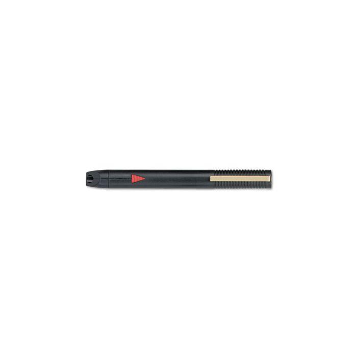 Quartet® High Impact Plastic Laser Pointer, Class 2, Projects 450 ft, Black