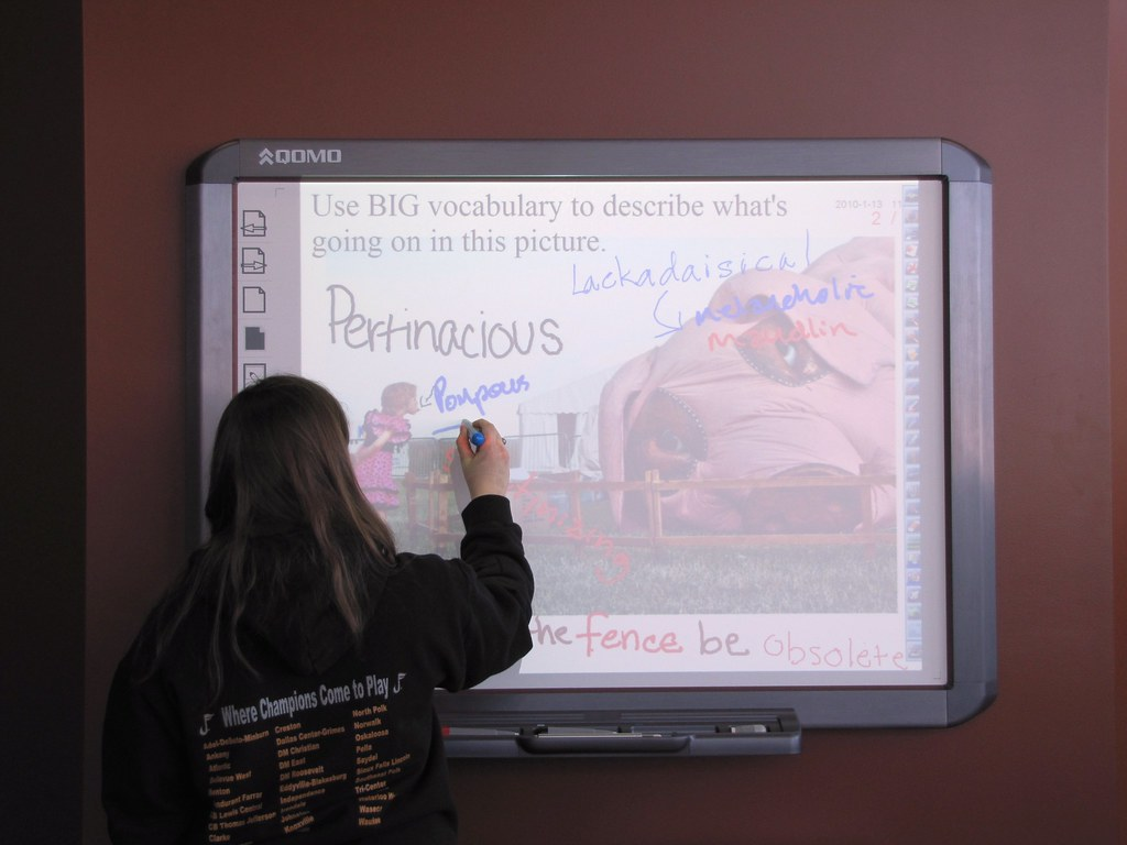 Are interactive whiteboards a thing of the past?